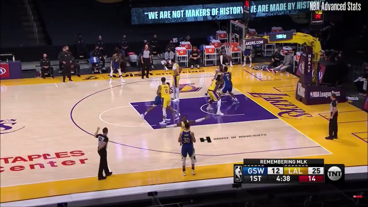 #goldenstatewarriors #NBA #LakeShow #kerr #klay #draymond  My top 5 favorite plays from Steph Curry from the match against Lakers :