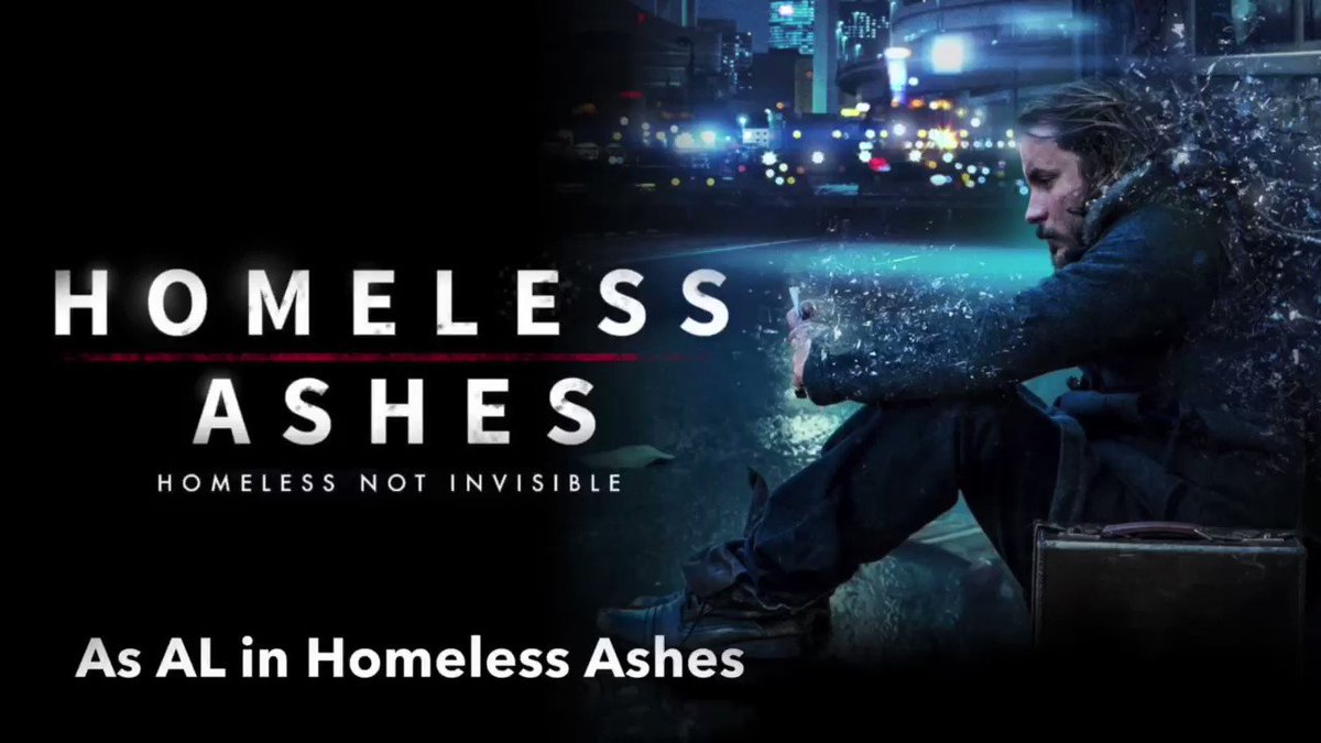 Take a look at these short clips of my character AL in @homelessashes - WARNING contains a clip some may find unsettling with strong language. Watch the full movie & see more, own the movie worldwide in over 60 countries. Purchase both the book & movie👇🏻