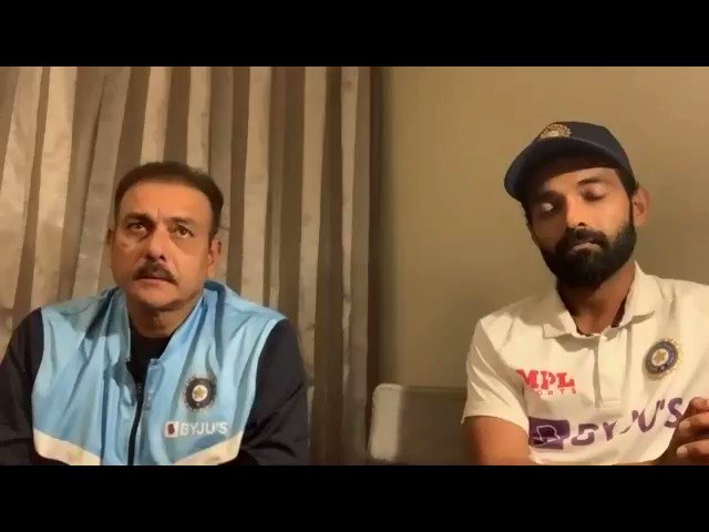 Listen to this what Rahane's feelings were after winning 4th test and Shastri on Pujara. खास मराठीमध्ये  #MarathiSpecial #IndvsAusTest @ajinkyarahane88  #RockSolid @cheteshwar1 @RaviShastriOfc