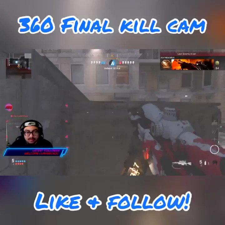 360 FINAL KILL CAM! #cod #codmw #360 #360snipe #toxic Follow My Twitch /D33ZISLIVE #codtopplays