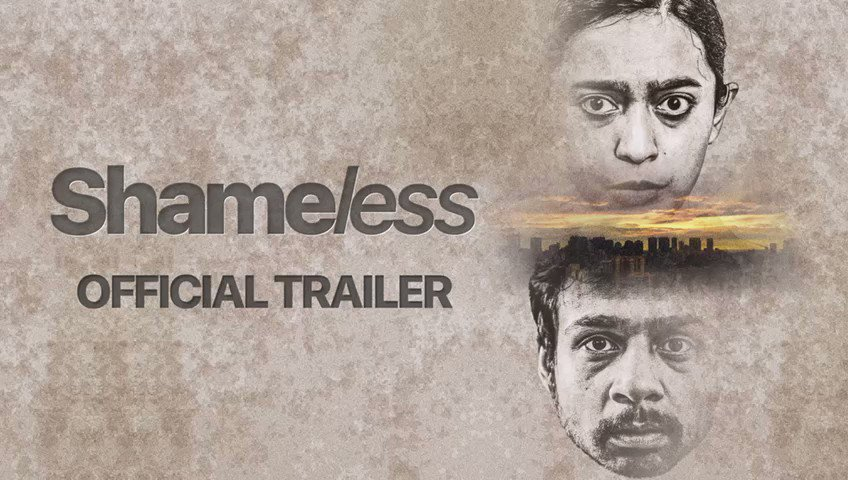 Sharing a jolt of kindness with the world. Here's the #ShamelessTrailer   All the best  @hussainthelal @sayanigupta @Rishabh_Kapur @KeithgomesW @Shabinaa_Ent #AshGomes @sandeepkamal @resulp @sureshsrajan @itsovaiskhan & team.   #SHAMELESSlyKind #Oscars2021 @shameless_film