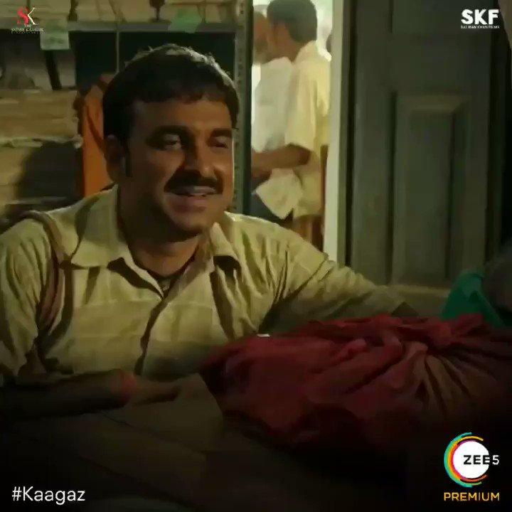 Agar koi Mritak aap se kahe ki mein zinda hoon, toh kaise react karoge aap. Bataiye comments mein, using emojis. 🙄🤔😱 #Kaagaz #ProofMilGaya #ProofHaiKya