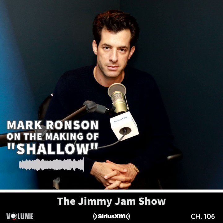 Tonight on #TheJimmyJamShow, @flytetymejam revisits his chat with @MarkRonson where they chat about Ronson's career and share stories about working with @amywinehouse, @MileyCyrus, @ladygaga & more! Listen 9pm-10pm ET or anytime on the @SIRIUSXM app: