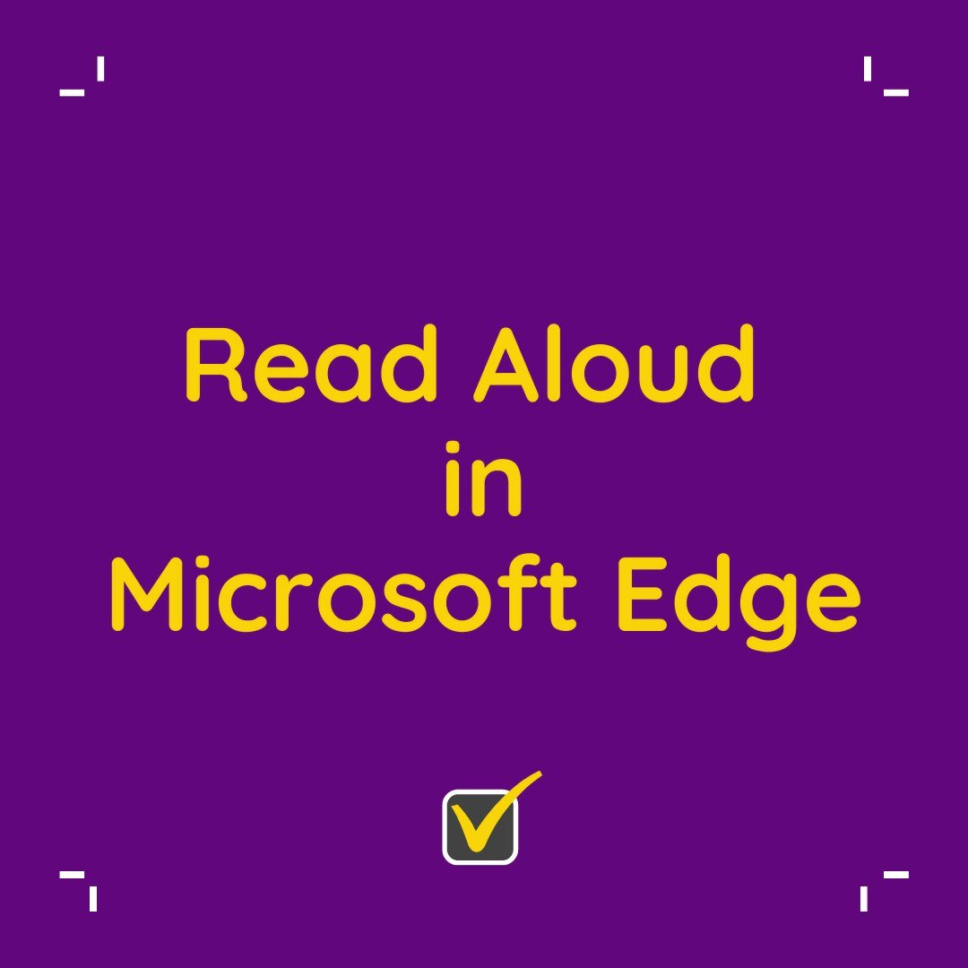 Get the text on any website read out loud with Microsoft Edge. Adjust the reading speed and the accent. Specially useful for students struggling with Dyslexia!  #TipTuesday #MicrosoftEducation #MicrosoftEDU #tuesdaymotivations #tuesdayvibe