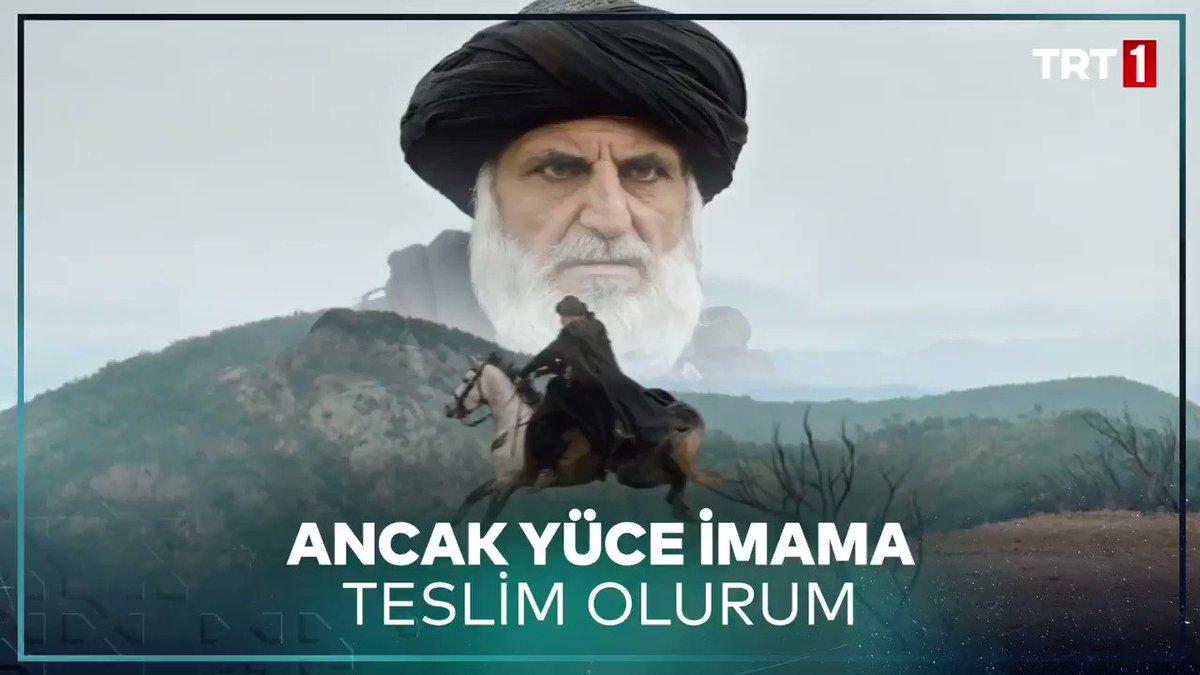 """""""Ben kendimi ancak yüce imama teslim ederim!"""" Hasan Sabbah'ın kendisini uçurumdan attığı o an... #UyanışBüyükSelçuklu @trt1"""