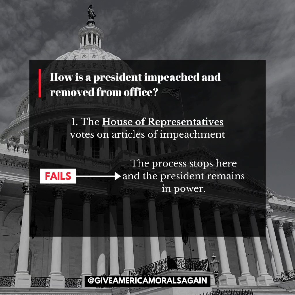 Impeachment. Yes, it's happening again. Here's everything you need to know (Part 1) • #Inauguration2021 #Impeachment #TrumpPresidency #Democrats #BidenHarrisInauguration #Transition46 #IlhanOmar #MitchMcConnell #NancyPelosi  #Trump #GiveAmericaMoralsAgain #Senate #TuesdayVibes