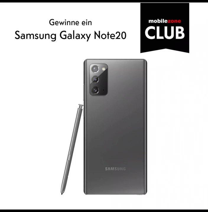 Auch diesen Monat können neue #mobilezoneClub Mitglieder wieder absahnen. 😍 Wenn du dich bis zum 31.01.2021 registrierst, nimmst du automatisch an der #Verlosung für ein #Samsung #GalaxyNote20 5G im Wert von CHF 1029.95 teil. Mehr zum mobilezone Club 👉