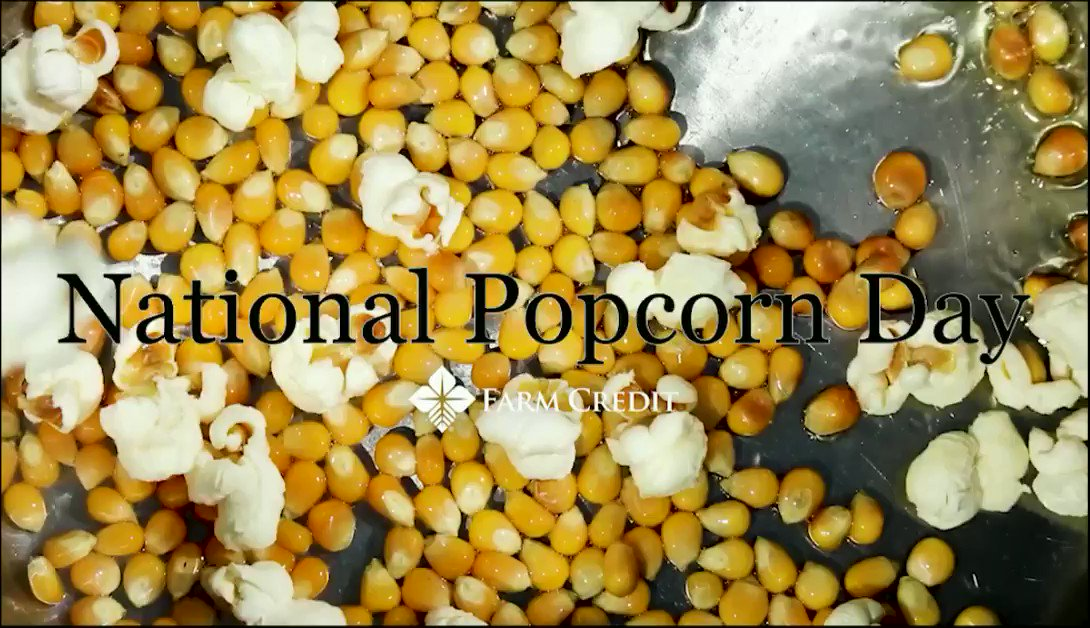 Did you know? One acre of land can produce over 30,000 kernels of corn used for popcorn. Good thing because, well, popcorn. Yum. #NationalPopcornDay #whatspoppin #weknowag