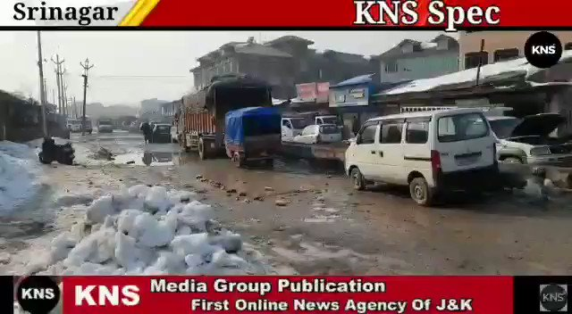 Watch @KNSKashmir  Srinagar #KNS special report