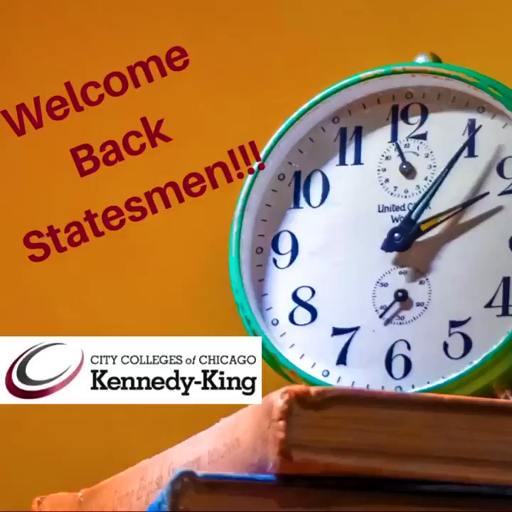 It's that time of year ⏰. Welcome back Statesmen! What are your goals for this #Spring2021 Term?   Remember that the KKC Team is here for you, visit:  to view our virtual student services   #KKCDifferenceMaker #College #WelcomeBackStudents #tuesdayvibe  🏫