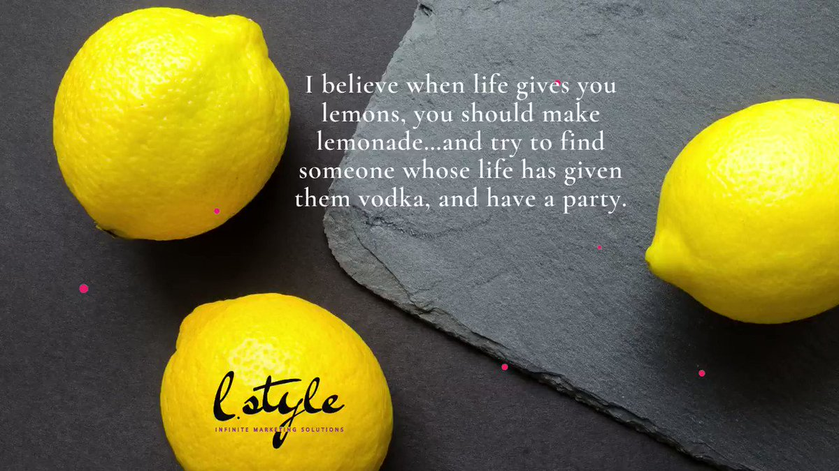 Feel the taste of life! #life #lemons #business #party