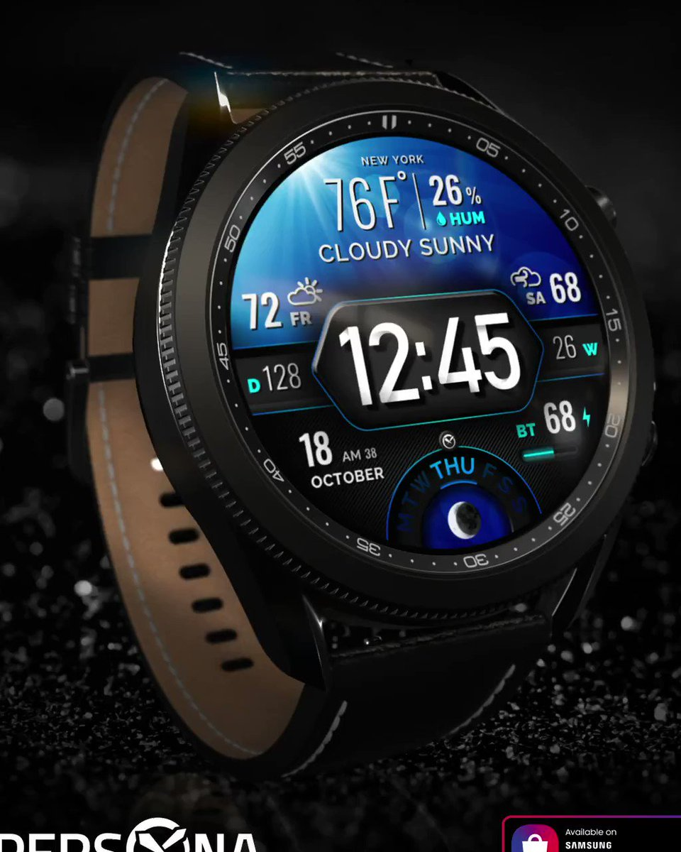 Our latest galaxy watch face: Persona Axis F is on the market now 🎉🎉🎉    #GalaxyWatch3 #GalaxyWatchActive2 #GalaxyWatchActive #GalaxyWatch #SamsungGear #SamsungWatch #WatchFace #WatchFaceoftheDay #GalaxyWatchStudio #WatchFaceDesign #GalaxyWatchDevelopers
