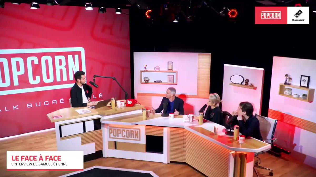 L'info est lâchée : on aura le plaisir de retrouver @SamuelEtienne vendredi matin à 9h30 dans une émission de @Francetele sur Twitch ! #Popcorn