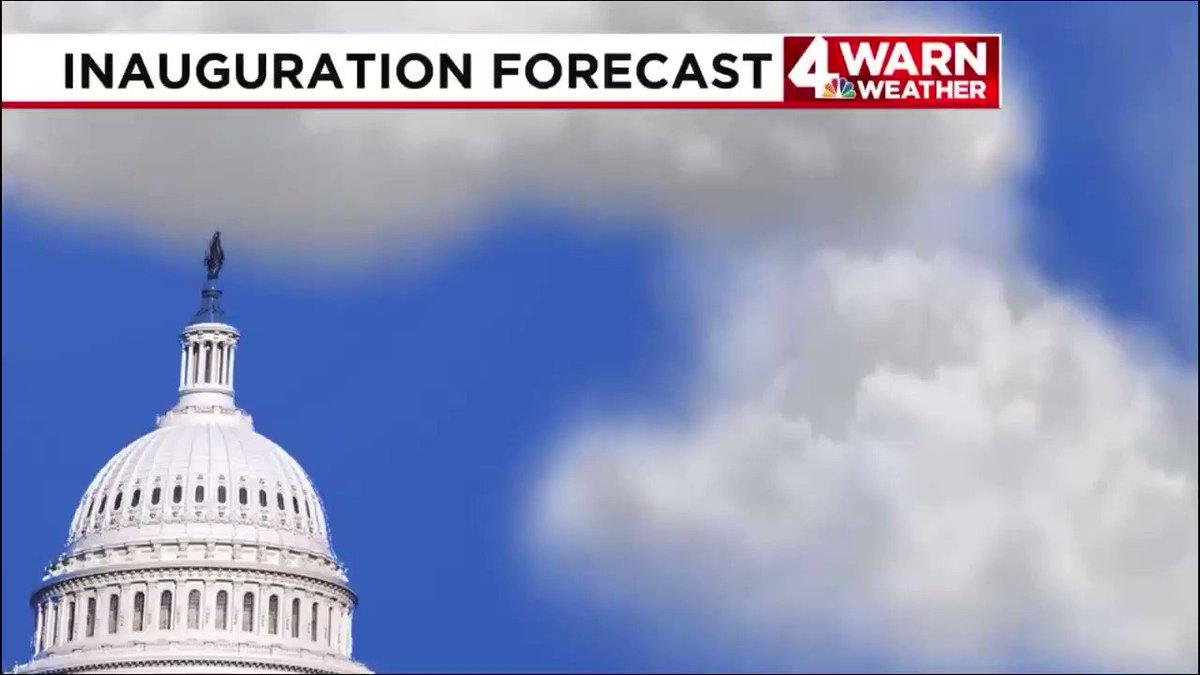 They'd better bundle up in #Washington, tomorrow!    #InaugurationDay  #News4  #4WARN  @WSMV