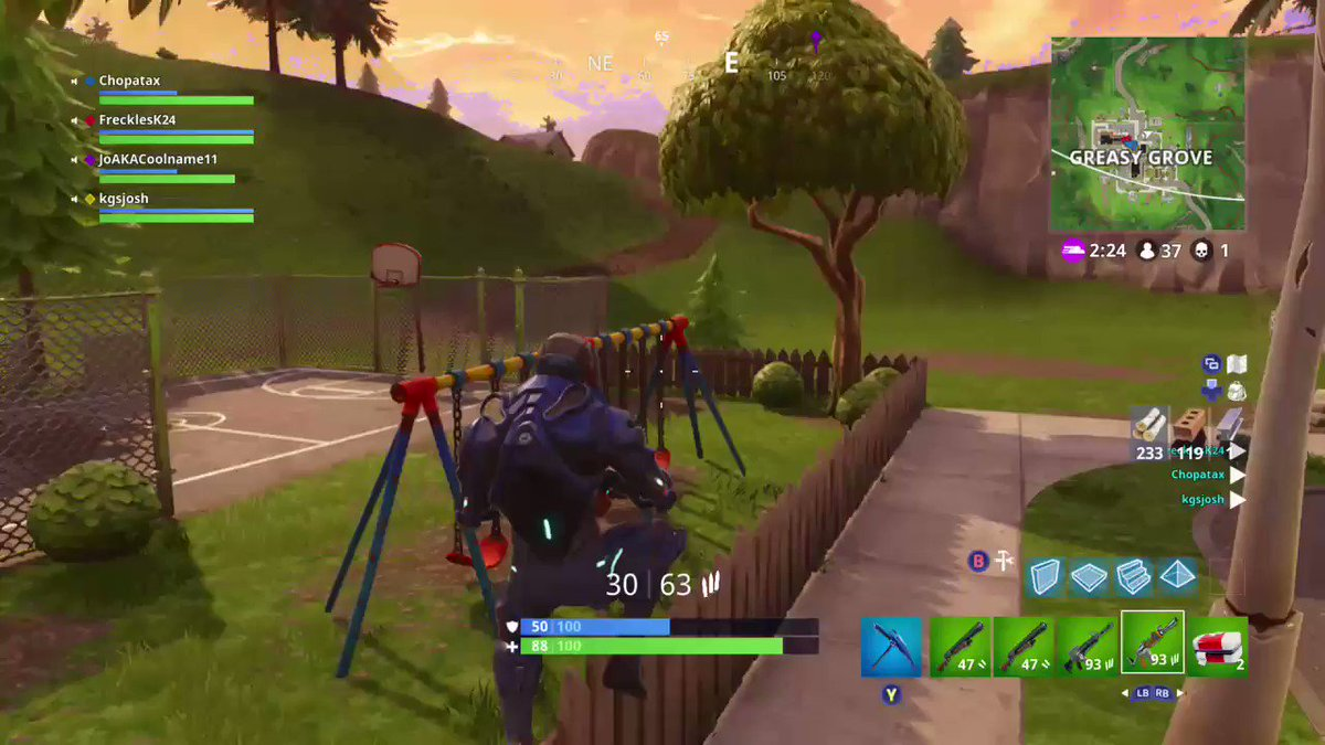 I cant even cap, my lil brother is clutch for this 😂 @banenzz #throwback #clutch #Fortnite #XboxShare