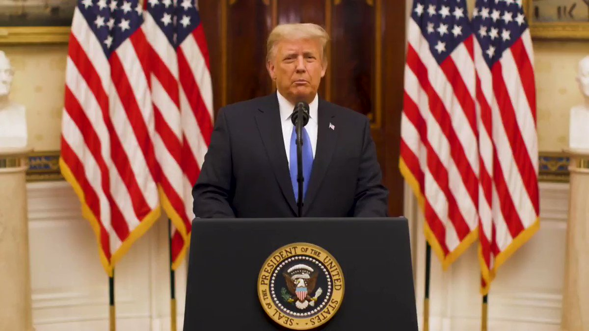 WATCH: President Donald Trump released a video farewell address Tuesday, thanking the American people and praying for the success of the next administration.   Full speech:
