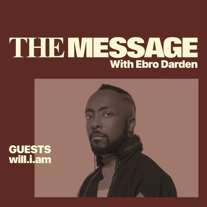Today on @AppleMusic, a new episode of #TheMessage. I'm sitting down with @iamwill to discuss his amazing work with the @iamangelfdn, and his dedication to giving back to his community. Watch the video and listen to his exclusive playlist: