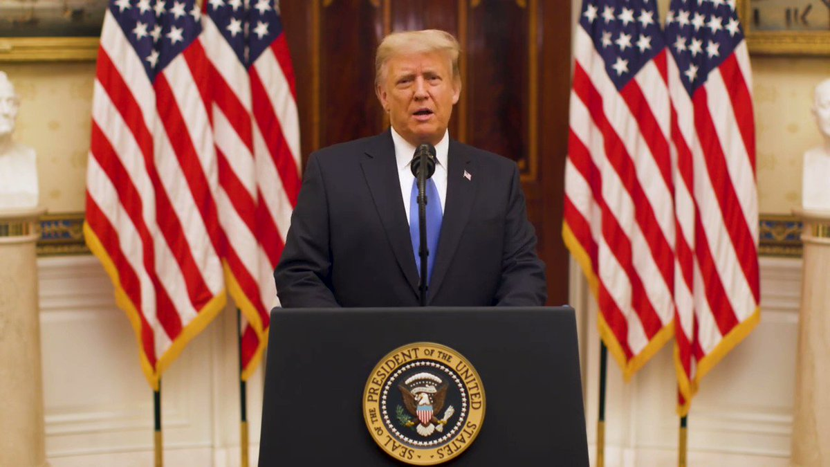 """TRUMP: """"The greatest danger we face is a loss of confidence in ourselves, a loss of confidence in our national greatness. A nation is only as strong as its spirit... We must never forsake our belief in America."""""""