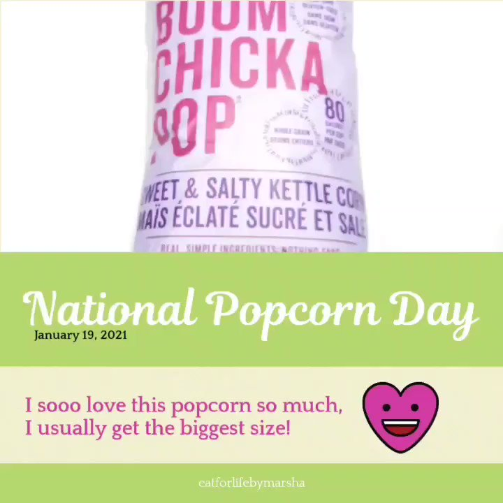 Happy #nationalpopcornday 😁😄😎😊 I can't wait to create some #snackalicious #popcorn treats with @angiesboomchickapop 🤓🤓 No advertising. I seriously love this brand. 😆 🤣  What's your favorite popcorn 🍿 flavour? #glutenfree #dairyfree #nationalfood #nationalfoodday