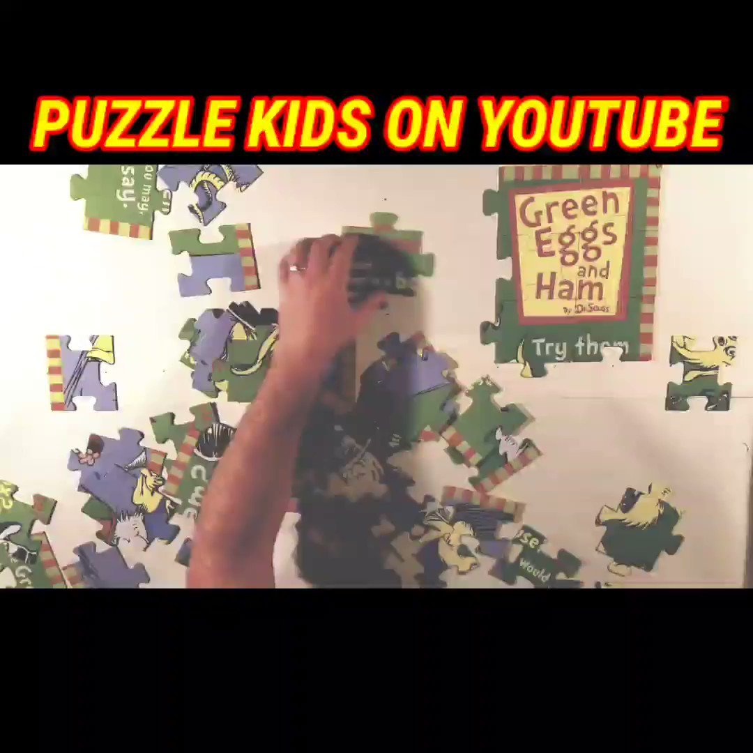 Are you a fan of #DrSeuss? How about #puzzles?  Watch the Full Video Here:   #PuzzleKids #PK #Jigsaw #Puzzle #JigsawPuzzle #ILovePuzzles #PuzzleTime #PuzzleAddict #VideoOfTheDay #Mood #BestOfTheDay #Mom #MomLife #Parents #KidsActivities