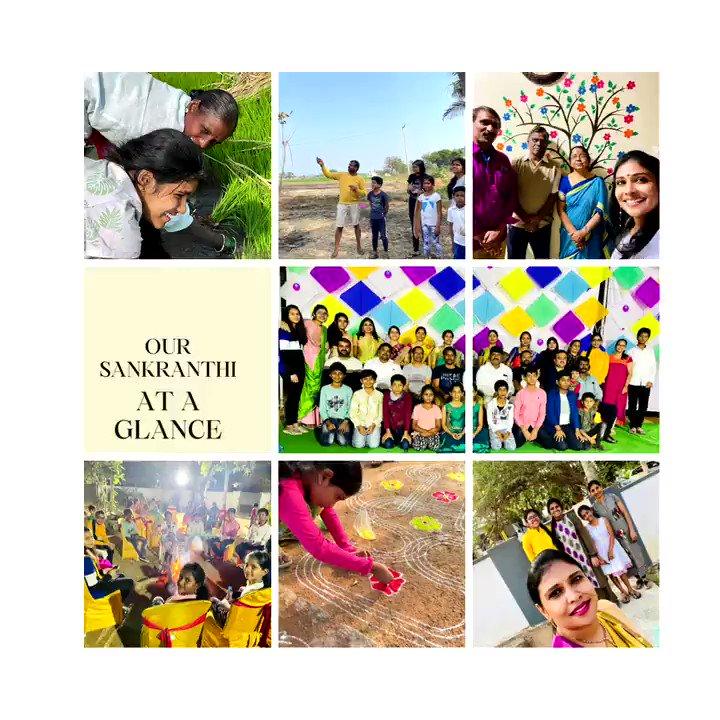 So many happy memories for one Sankranti🌾🔥🪁 #HappyMakarSankranti #HappyPongal #RealisticEducation