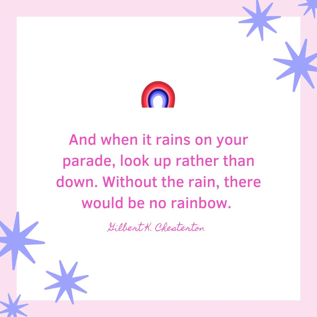 Always remember to never let anything or anyone rain on your parade. #quotes #quotesfor you #tuesdayvibes #selfcare #selflove #love #beauty #women #quotesforyou #tuesday #goodvibes #vibes #beautiful #rainbow #followus #followback #pic #positiveaffirmations #affirmations #girls