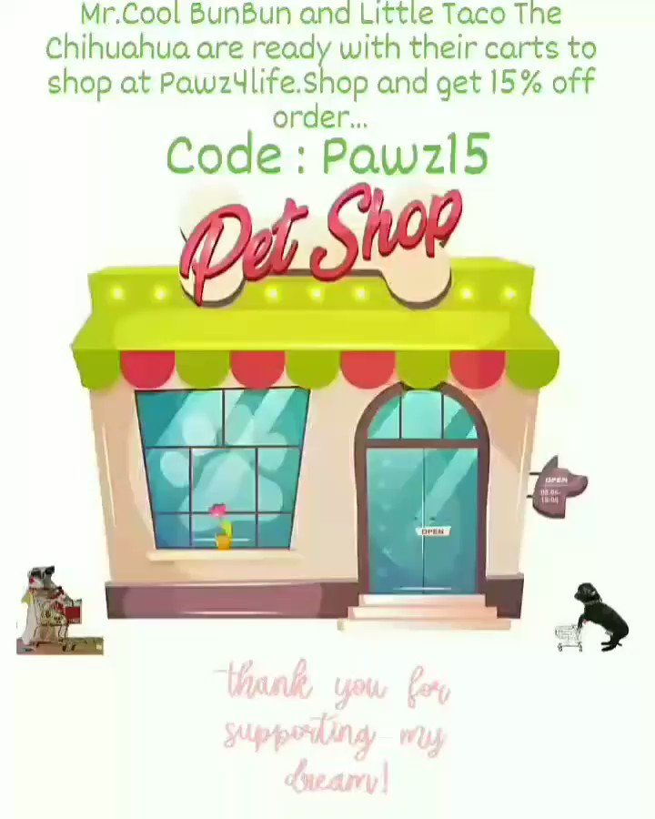 Thanks for your support in my small business...    #pawz4life #pawz4lifeshop #smalllocalshop #SupportSmallBusiness #petboutique
