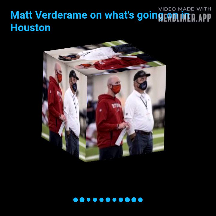 What's going on with the #Texans? @MattVerderame weighed in on my podcast. Check out his take below and listen to the full conversation here: