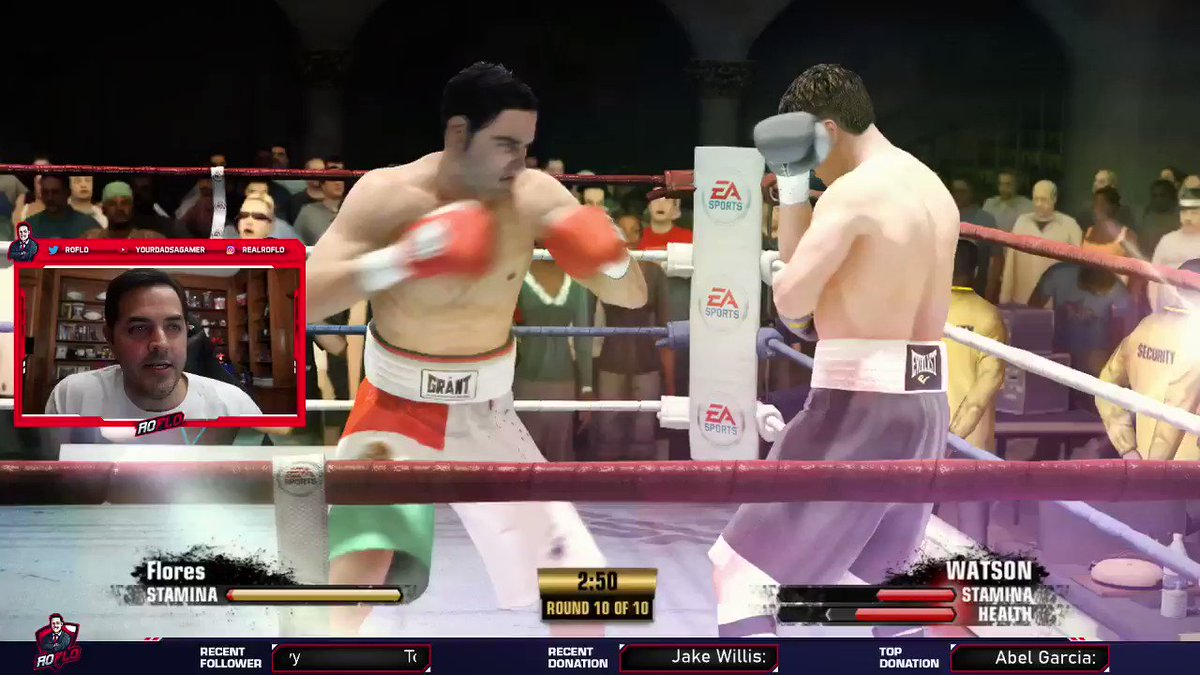 Check this out I'm playing @easports Fight Night! We need a new #boxing game!! on