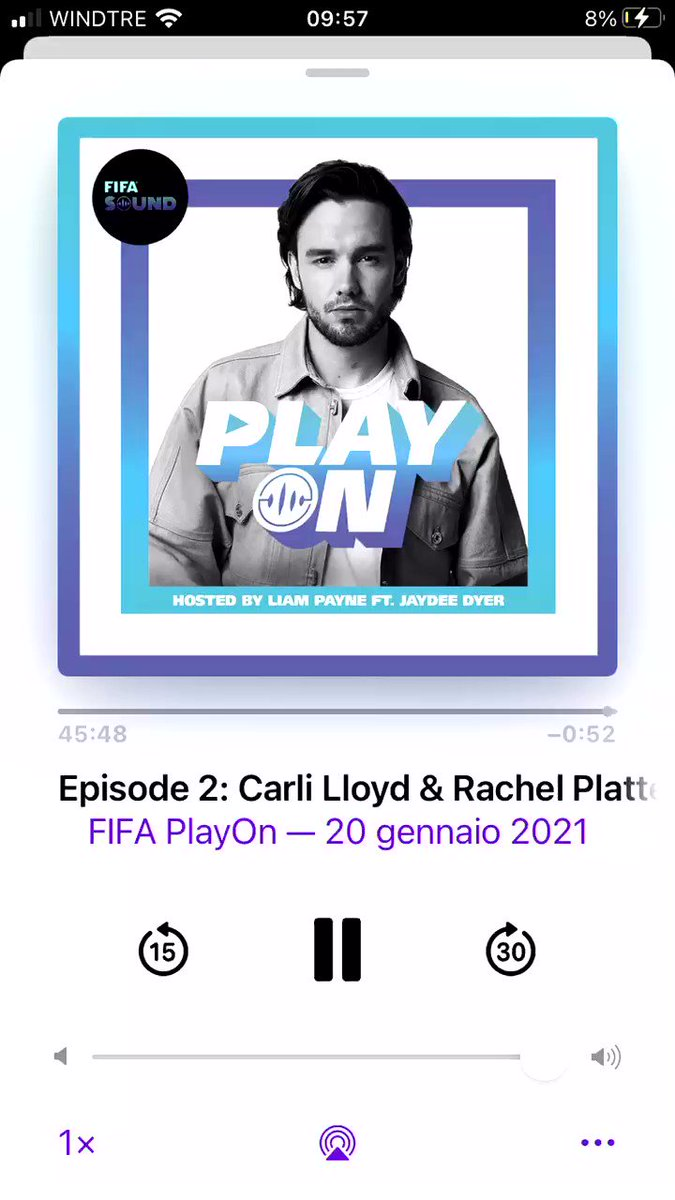 .@LiamPayne i truly feel more positive about life after listening to the podcast, what an amazing chat #FIFASOUND #PLAYON #FIFAPlayOn @FIFAcom