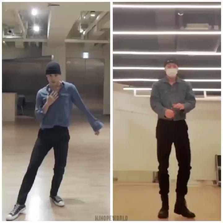 Admiro como san se aprende las coreografías tal cual con todos los pasos, el main dancer