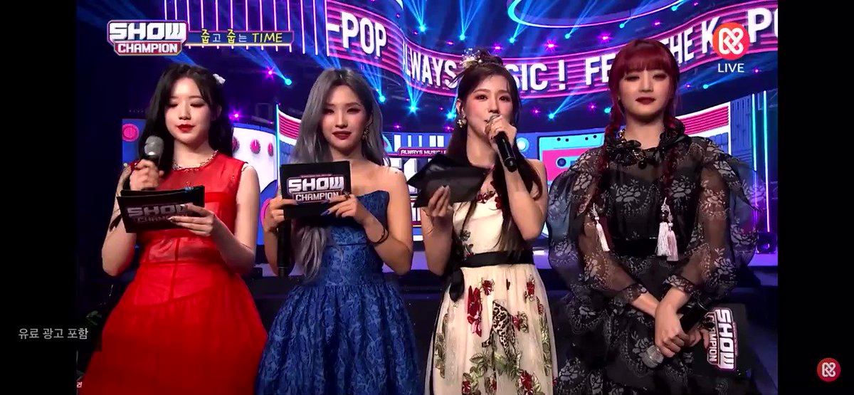 Wow... they all look so incredibly BEAUTIFUL  #HWAA1stwin @G_I_DLE #GIDLE #여자아이들 #HWAA #I_burn