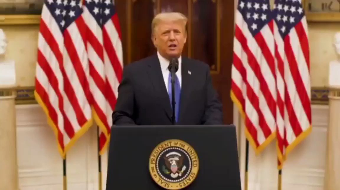 Farewell speech from the outgoing president of the United States, Donald Trump.{Part 2}  #sopupdates #unitedstatesofamerica #DonaldTrump #JoeBiden
