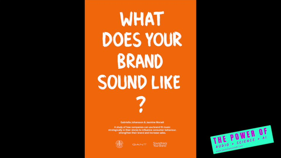 Image for the Tweet beginning: What does your #brand #sound