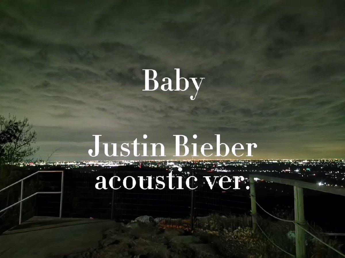 #JustinBieber さんの #baby を #カバー してみました!! バラードなのであまり上手く歌えたかは微妙ですが聞いていただけたら嬉しいです! #YouTube には載せようかまだ迷ってる所、、、。  #Singer #singing #歌ってみた #YouTuber