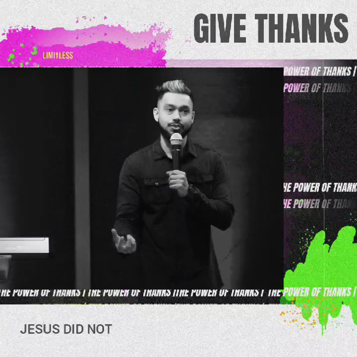 What happens when you GIVE THANKS🤯 Check it out! . . . . #limitlessgoa #churchingoa #sermonvideo #word #jesus #truth #thanksgiving #gratitude #anxiety #faith