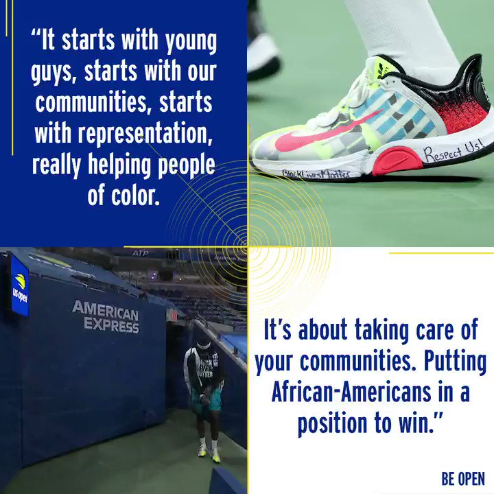 Frances Tiafoe made his voice heard on & off the court during the 2020 US Open.