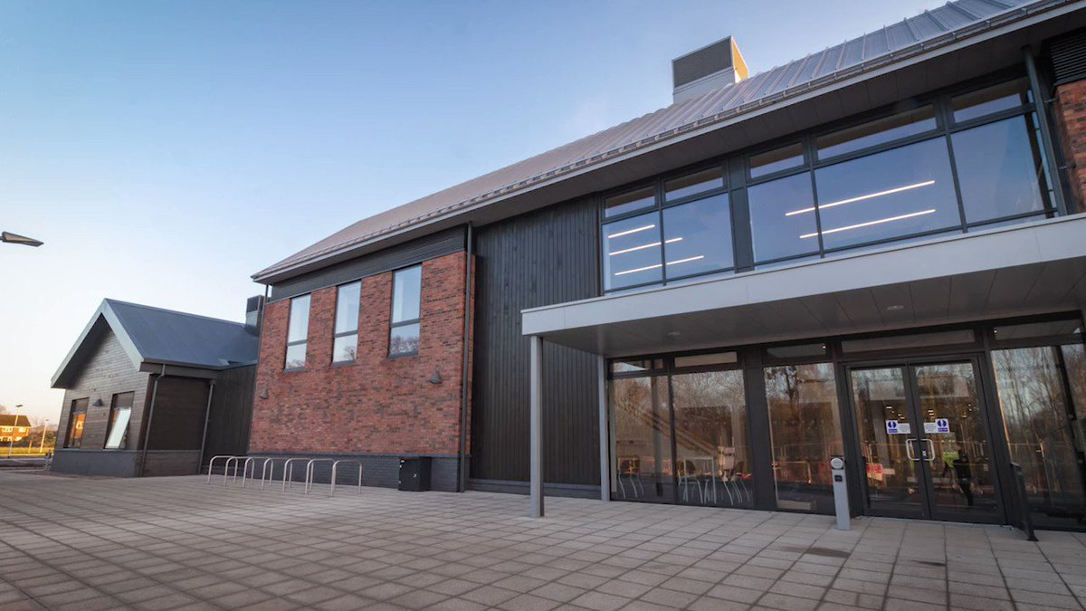The building is almost complete... See a sneak preview of the new Harper Adams Veterinary Education Centre soon to be opening its doors for teaching and learning across animal health disciplines #degreesthatmatter