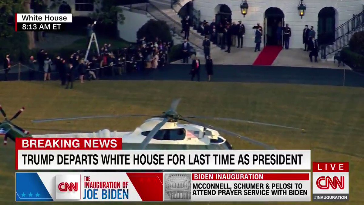 And with that he goes from being The President of The United States to Florida Man.  Life comes at you fast.🤣🤣🤣  #InaugurationDay