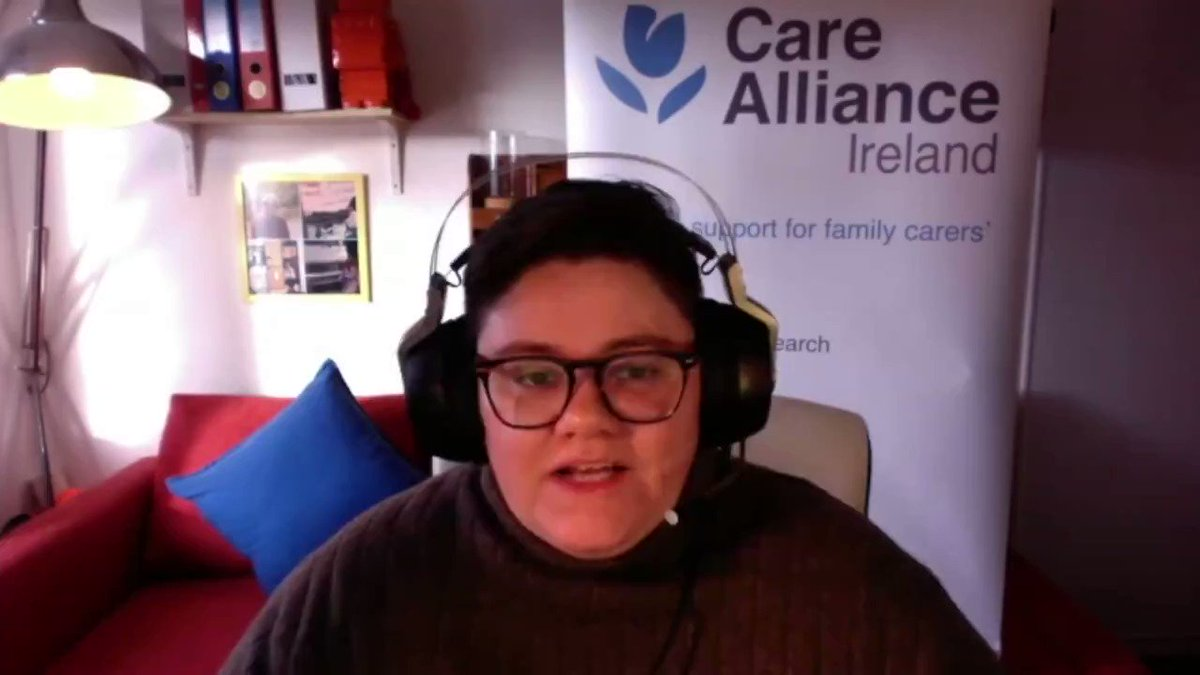 'There is a diversity within family care' - Zoe Hughes of @CareAlliance addressing members of The Citizen Assembly last weekend on the topic of care.