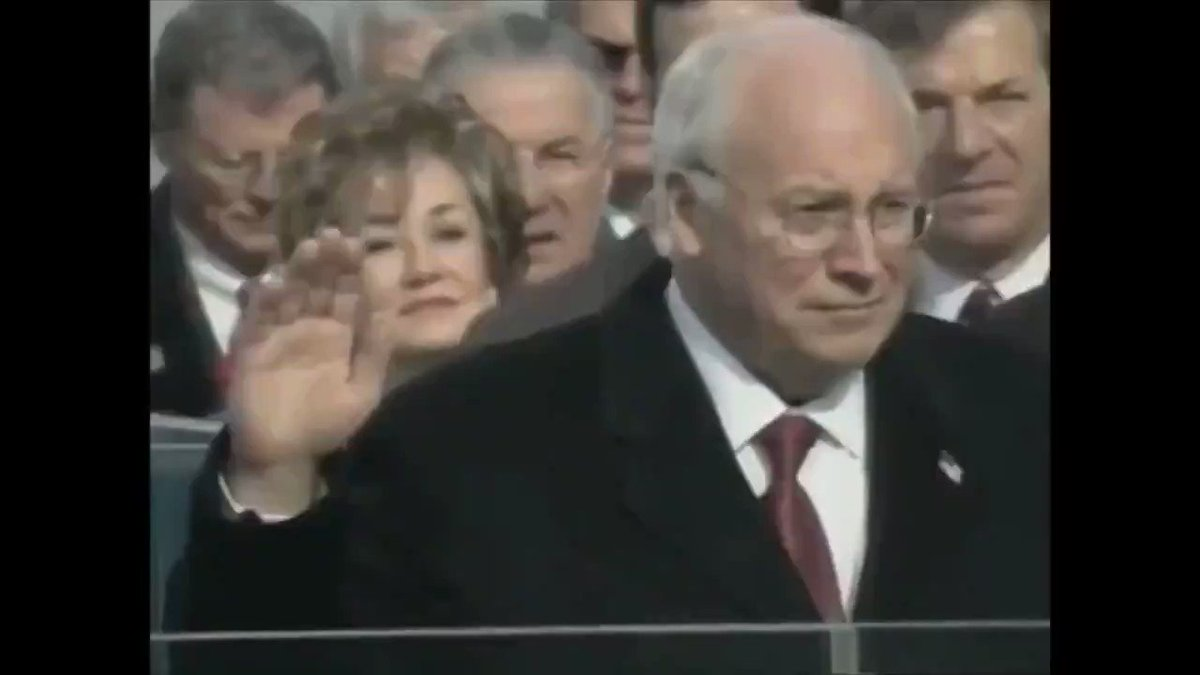 Thank you, to all of my supporters, America is now in great path again! Cannot wait to do many great things for this country, yet again The Cheney-Bush Administration will make sure that no American will have to worry about terrorism! #Inauguration #InaugurationDay #ByeByeTrump