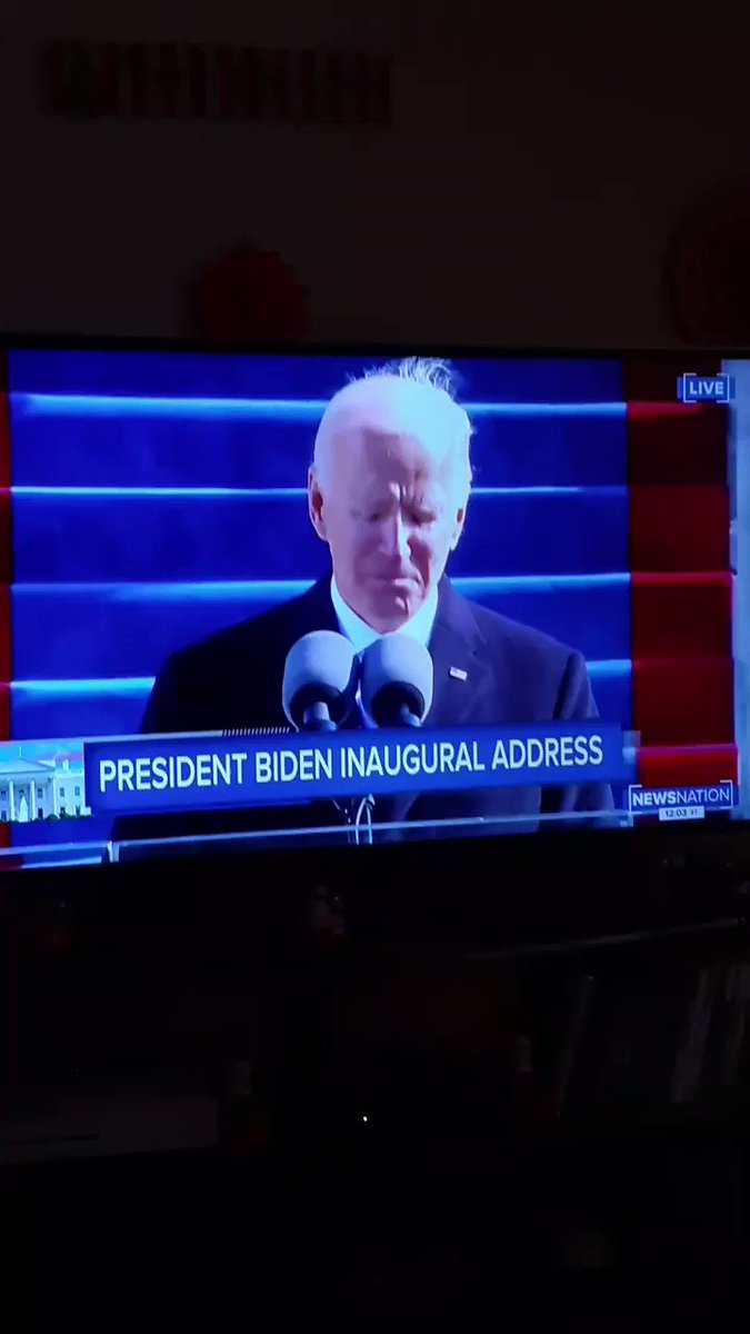 #InaugurationDay #History #America #TrumpPence2020 #BidenHarris2020 it's official.... no empty promises fix it... whether you like it or not support America the same way you did with trump as your president