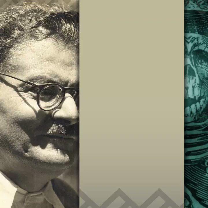 """#UnDíaComoHoy, pero de 1955, murió José Guadalupe Posadas, célebre por sus dibujos de escenas costumbristas, folclóricas, de crítica socio-política y por sus ilustraciones de «calacas» o calaveras, entre ellas """"La Catrina""""."""