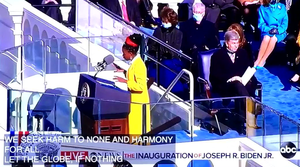 Yes. #Inauguration2021 #BlackLivesMatter