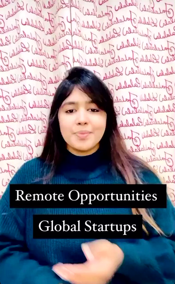 #FAANGPath brings to you remote opportunities!! 😍  Join our discord server for more such opportunities   #HiringNow #Jobs #Career #CareerCoach #Mentor #NewYear #covidlayoffs #resume #jobsearch #Preparation #Hope #JobHunt #RemoteWorking