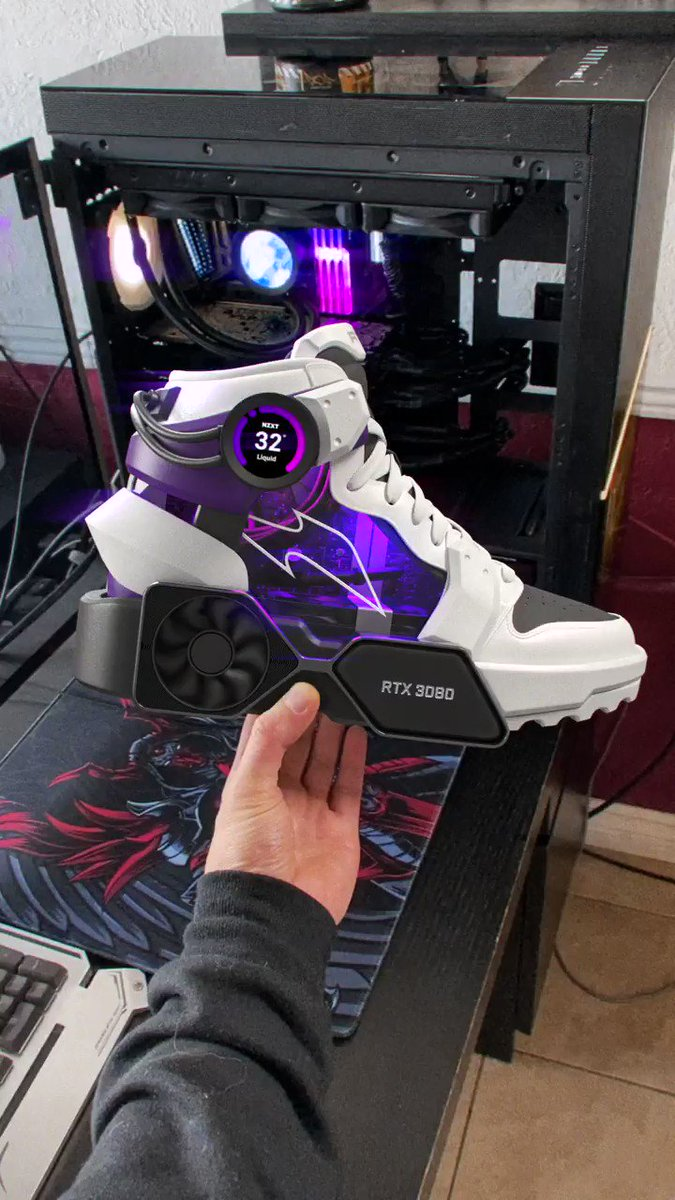 SNEAKERS MASTER RACE, @NZXT DRIP 💧