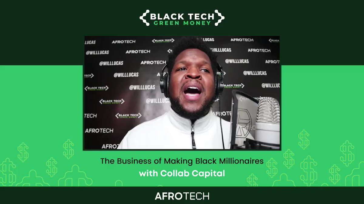 On another 🔥 episode of the #BlackTechGreenMoney podcast, the @collab_capital team @jdawkinsatl, @jewelmelanie & @DreamMaven joined @will_lucas for a candid conversation on what's missing in venture capital, wealth generation + more! 🙌🏿⠀  🎙️ Listen now: