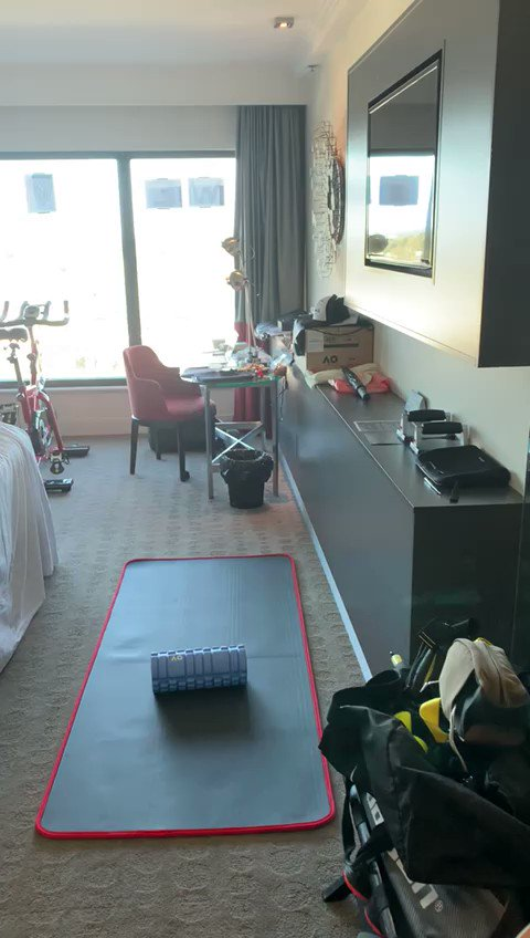 @SvenTennis - Day 5 - Lockdown Hotel Room Tour #ThankYou @TennisAustralia for looking after us!🎾❤️  #SvenGroeneveld #Tennis #Tenis #TennisBalls #10sBalls #TennisAustralia @AustralianOpen #AO2021 #AusOpen @toalsonofficial @OrangeCoach #Covid19 #QuarantineLife