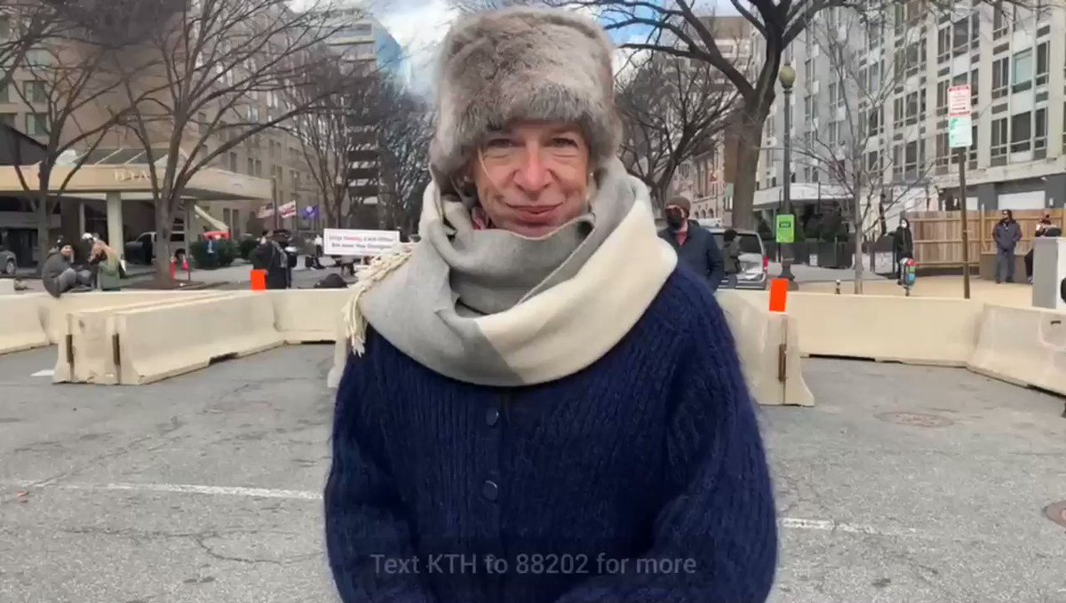 #KatieHopkins Reporting from DC! #inaugurationday - TXT KTH to 88202 for more!