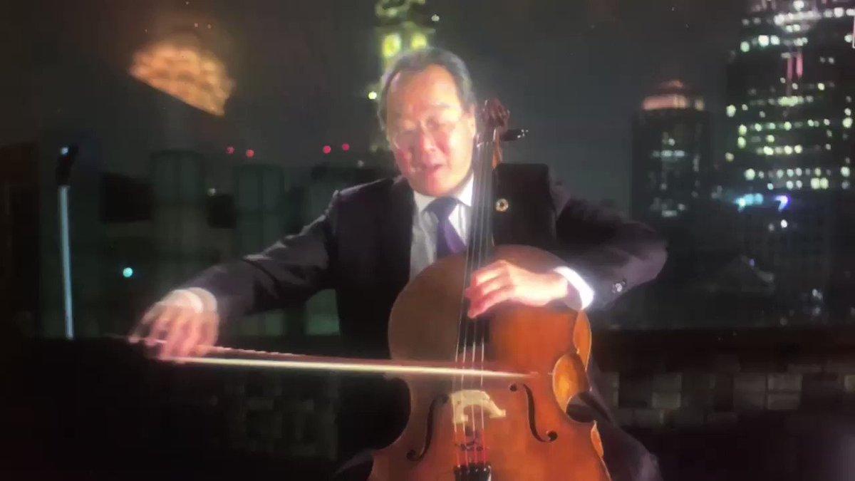 Yo-Yo Ma is a national treasure. #Inauguration2021